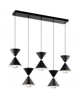 Elan Lighting  ELA-84113 Kardon LED Linear Multi Light Pendant